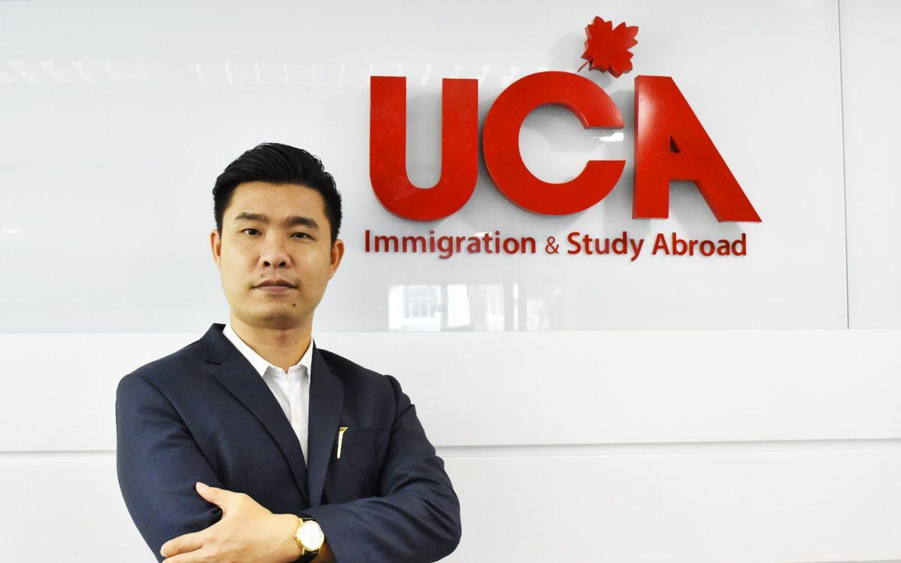 Ông Hải Giám Đốc UCA Immigration chuyên Định cư Canada uy tín đảm bảo