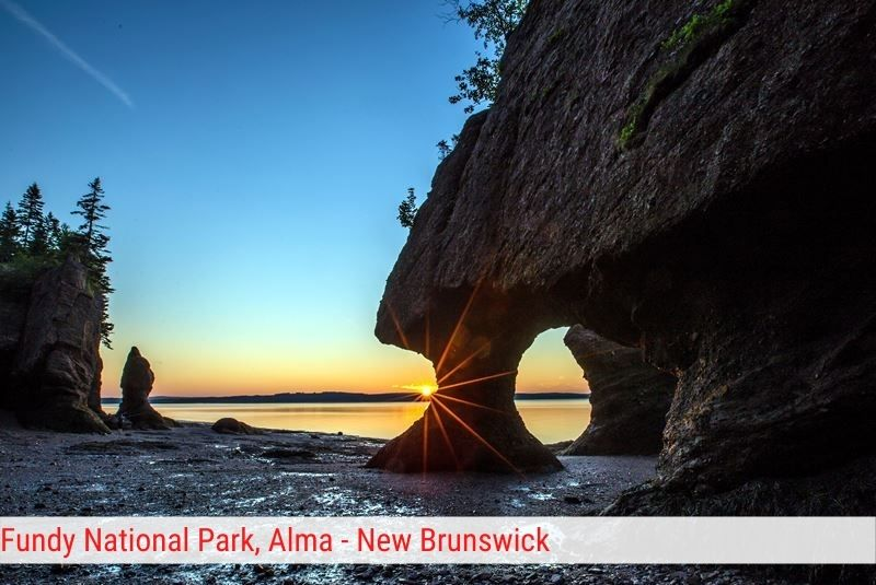 Fundy National Park Alma - New Brunswick