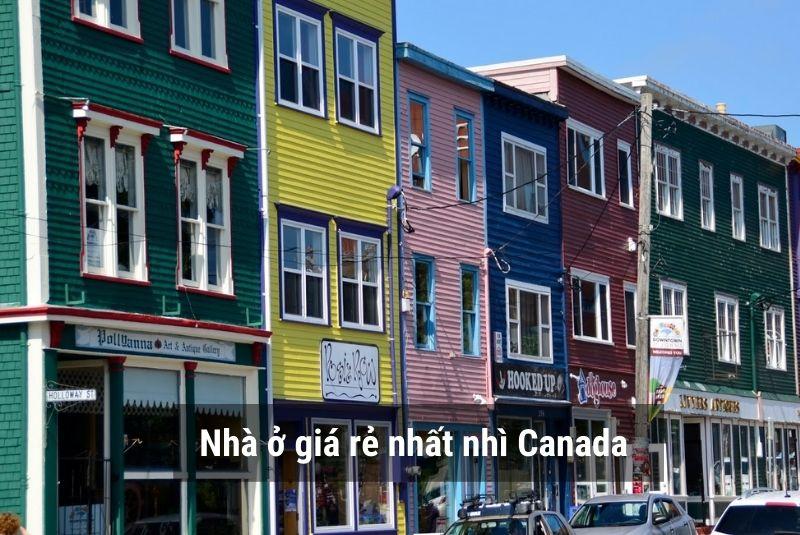 Nhà ở Newfoundland And Labrador giá rẻ nhất nhì Canada