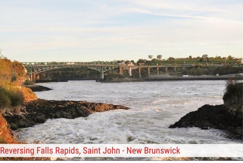 Reversing Falls Rapids Saint John - New Brunswick