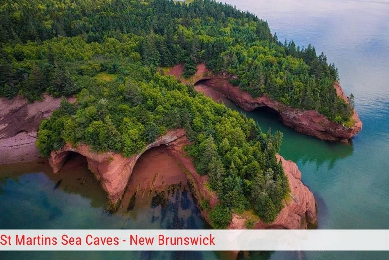 St Martins Sea Caves- New Brunswick