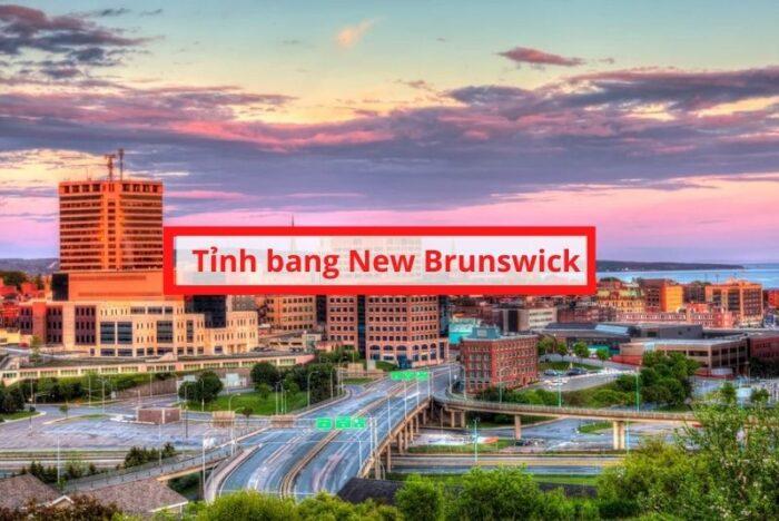 Tỉnh bang new brunswick Canada