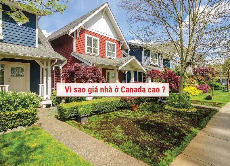 Vì sao giá nhà ở Canada cao