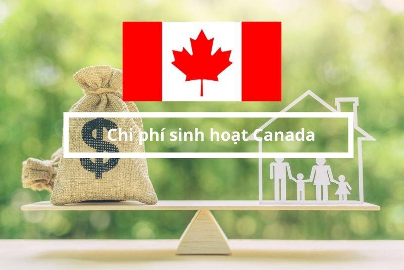 Chi phí sinh hoạt tỉnh bang Canada tổng hợp
