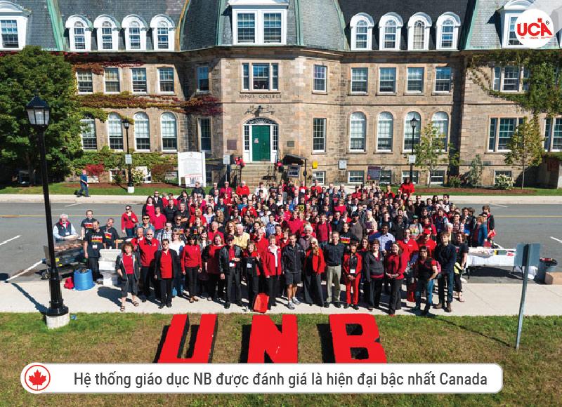 Hệ thống giáo dục NB được đánh giá là hiện đại bậc nhất Canada
