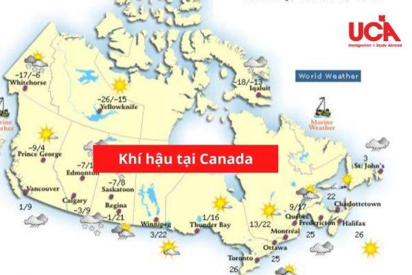 Khí hậu Canada khá đa dạng