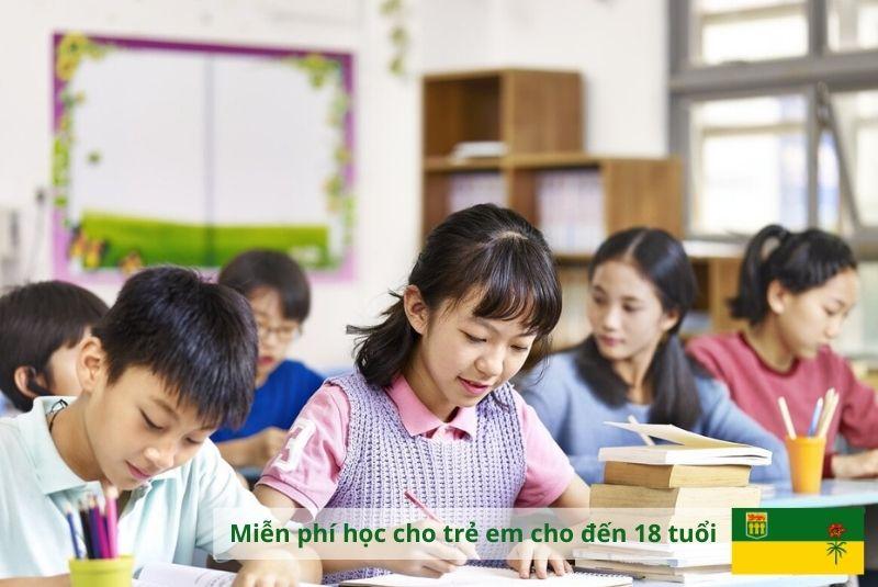 Cơ hội miễn phí giáo dục tại Canada