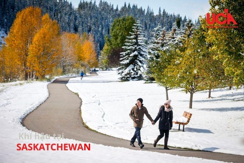 Saskatchewan Canada khí hậu