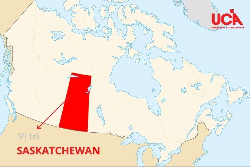 Saskatchewan Canada ở đâu?