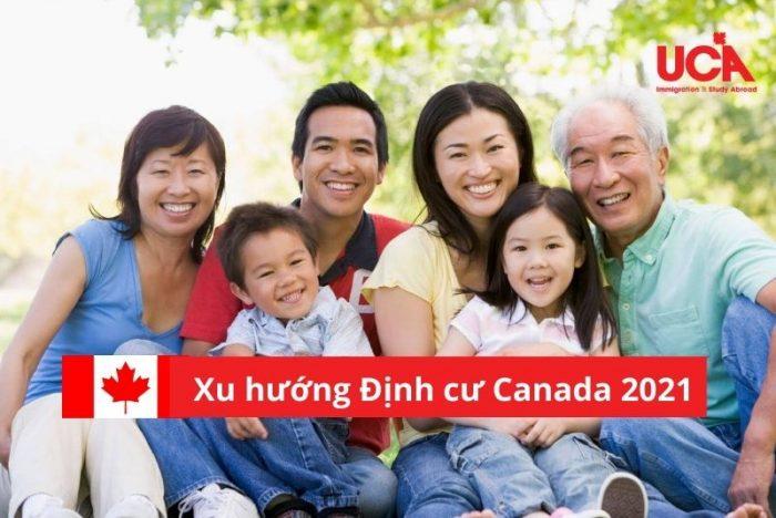 Xu thế định cư Canada 2021