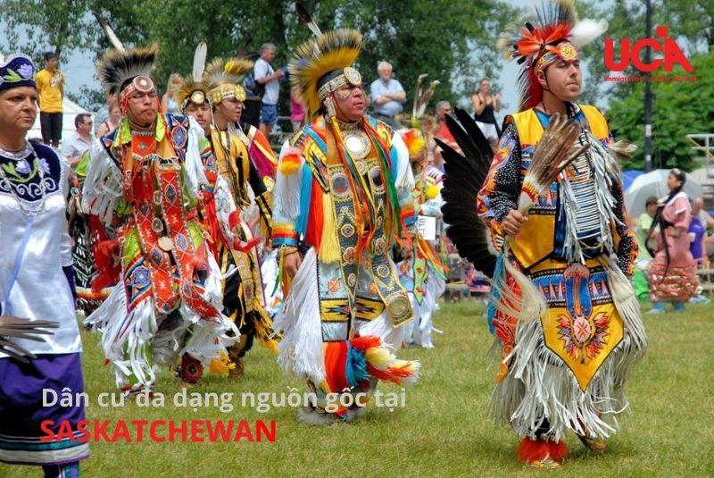 Saskatchewan Canada đa dạng sắc tộc