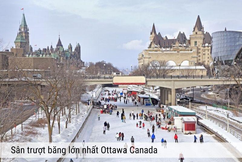 Sân trượt băng lớn nhất Ottawa
