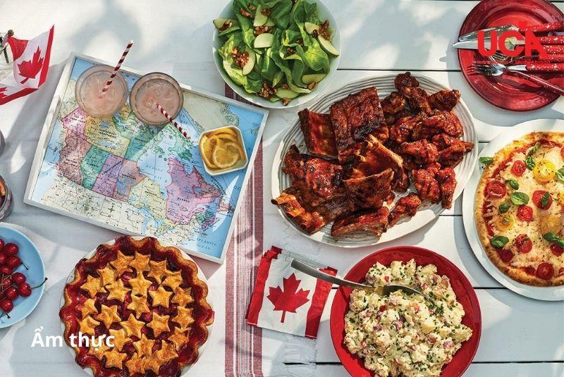 Ẩm thực đa dạng tại thủ đô Canada