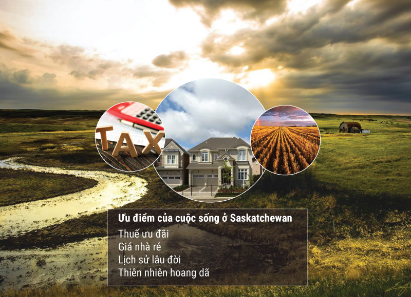 Ưu điểm cuộc sống tại Saskechewan Canada