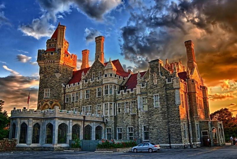 Casa Loma lâu đài tại Toronto