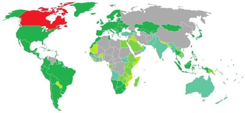Khi bạn có Visa Canada thì bạn sẽ được miễn thị thực hàng loạt các nước