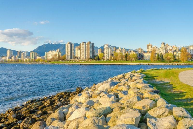 Kitsilano Beach tại Vancouver
