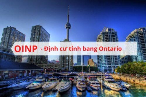 OINP định cư tỉnh bang Ontario Canada