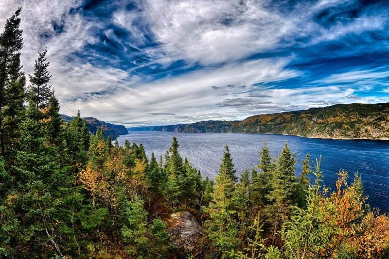 Quebec sở hữu cảnh quan thiên nhiên tươi đẹp