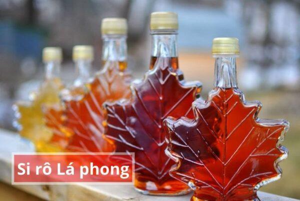 Đặc sản Canada siro Lá phong