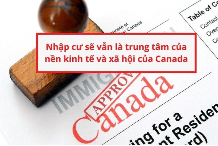 Nhập cư vẫn là chính sách trung tâm định cư Canada