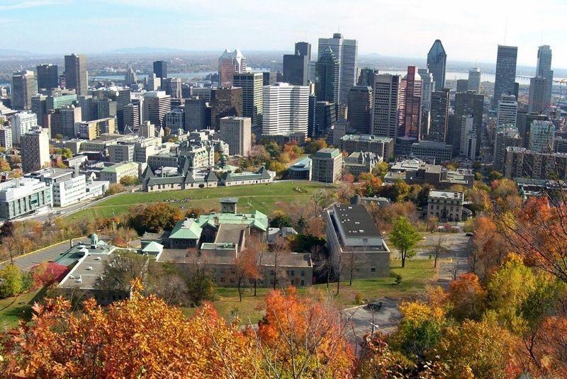 thủ phủ Montreal Canada