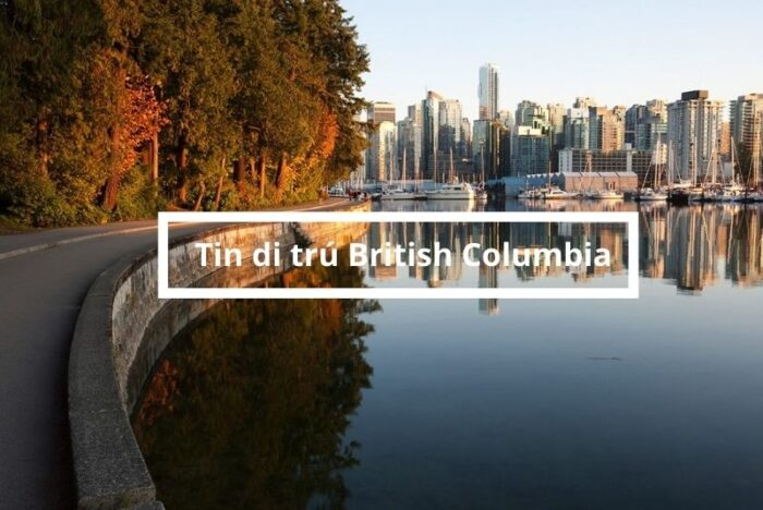 tin di trú tỉnh bang British Columbia
