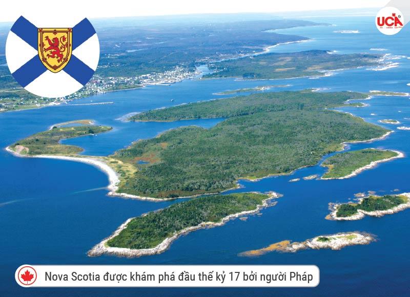Lịch sử ra đời Nova Scotia từ đầu thế kỷ 17 khám phá bởi người Pháp