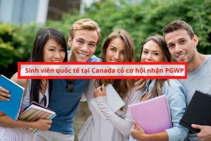 Sinh viên quốc tế tại Canada cơ hội nhận PGWP