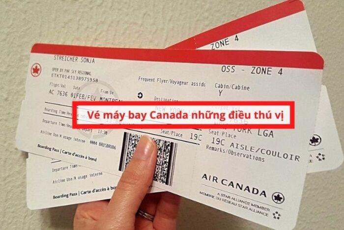 Vé máy bay canada và những điều thú vị