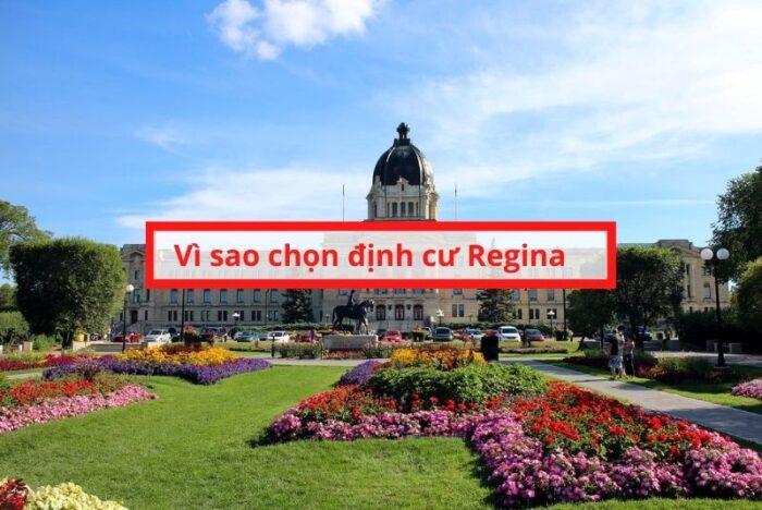 Vì sao chọn định cư Regina saskechewan