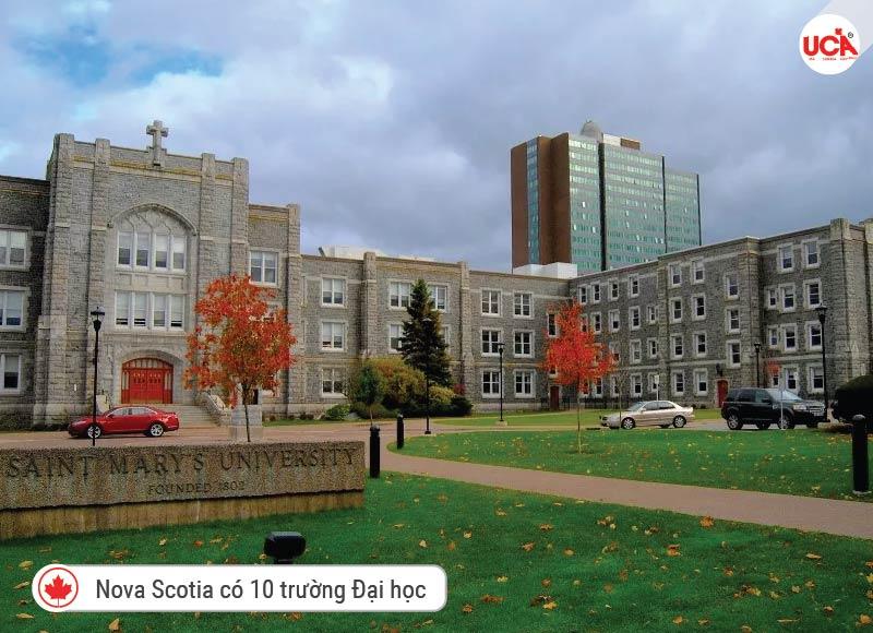 Nova Scotia có 10 trường Đại học trong hệ thống giáo dục