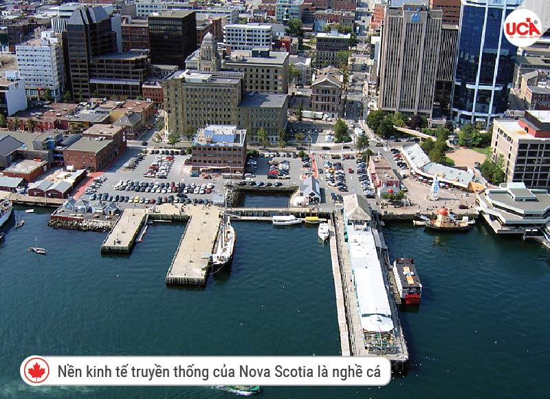 Nền kinh tế truyền thống của Nova Scotia là nghề cá