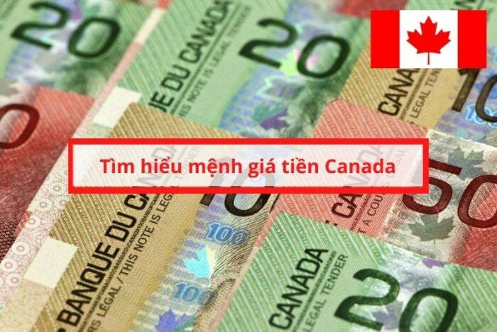 Mệnh giá tiền Canada là gì