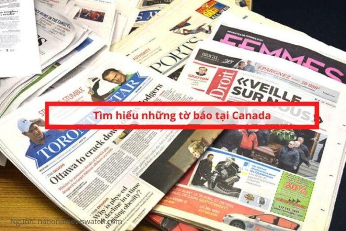Tìm hiểu về những tờ báo canada