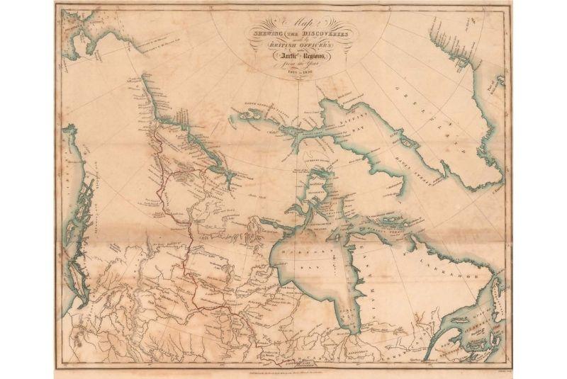 Trái tim bóng tối của Canada: Lập bản đồ biên giới Bắc Cực