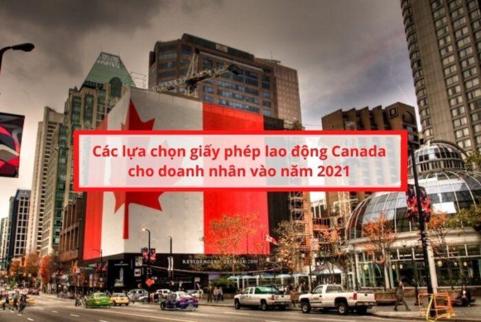 Thông tin định cư doanh nhân Canada