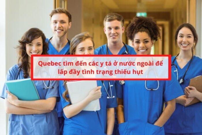 Quebec tuyển y tá nước ngoài