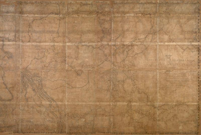 Bản đồ của ông David thomson