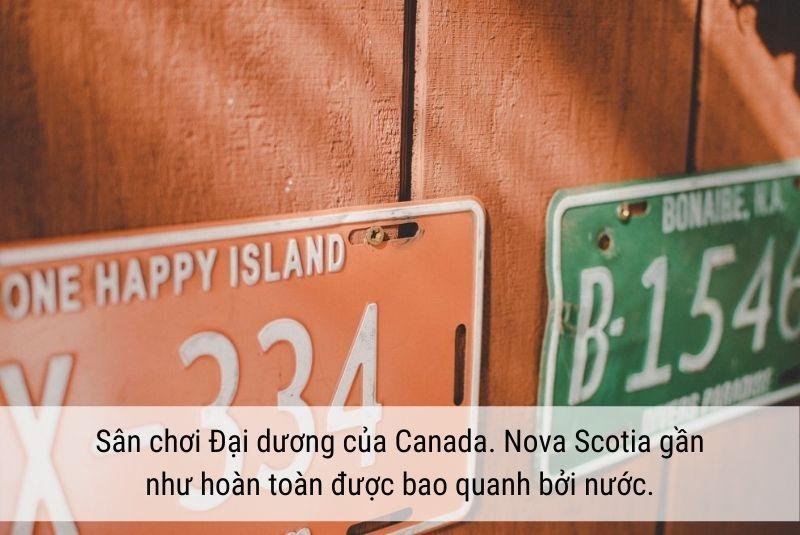 Biệt danh của Halifax là sân chơi đại dương Canada