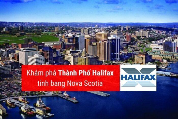 Halifax thành phố thủ phủ tỉnh bang Nova Scotia