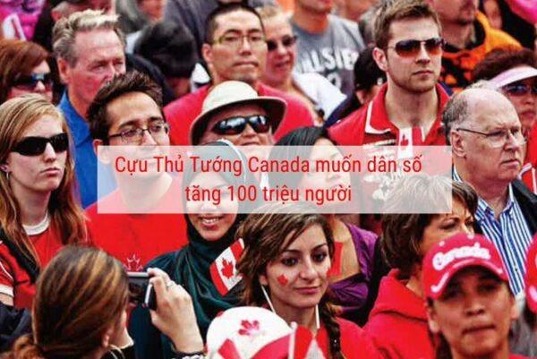 Canada muốn tăng dân số 100 triệu người