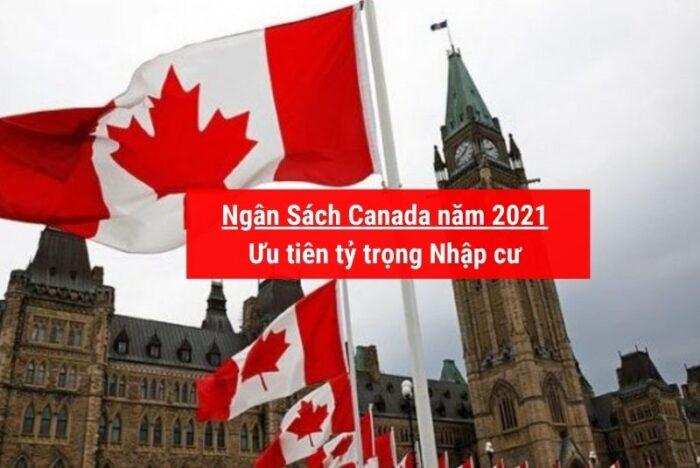Ngân sách Canada năm 2021 ưu tiên nhập cư