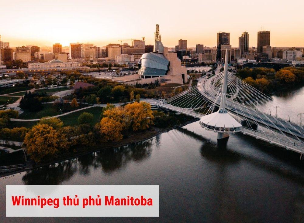 Thủ phủ Winnipeg manitoba