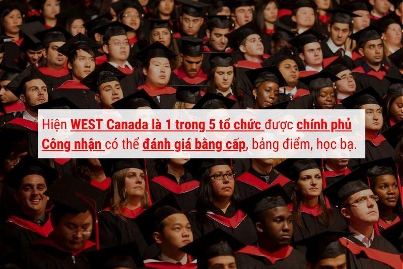 West Canada là 1 trong 5 tổ chức được CP Canada chỉ định