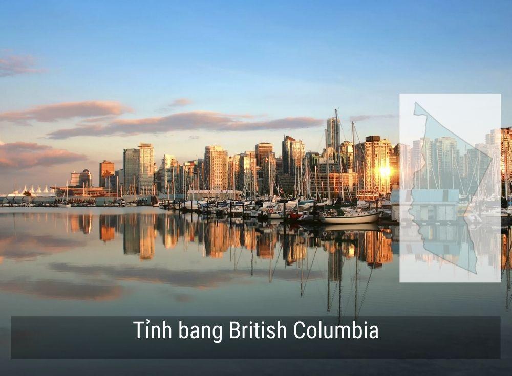 Tỉnh bang British Columbia Canada năm 2020