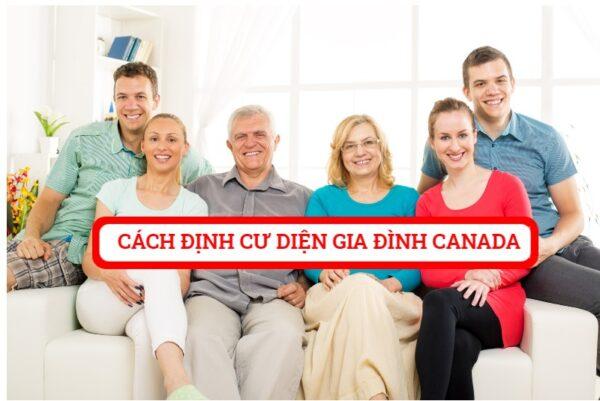 Cách đoàn tụ gia đình tại Canada như thế nào ?
