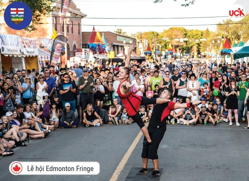Edmonton được biết đến với các lễ hội đặc sắc, đặc biệt là Lễ hội Edmonton Fringe