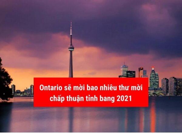 Ontario mời bao nhiêu thư chấp thuận tỉnh bang năm 2021