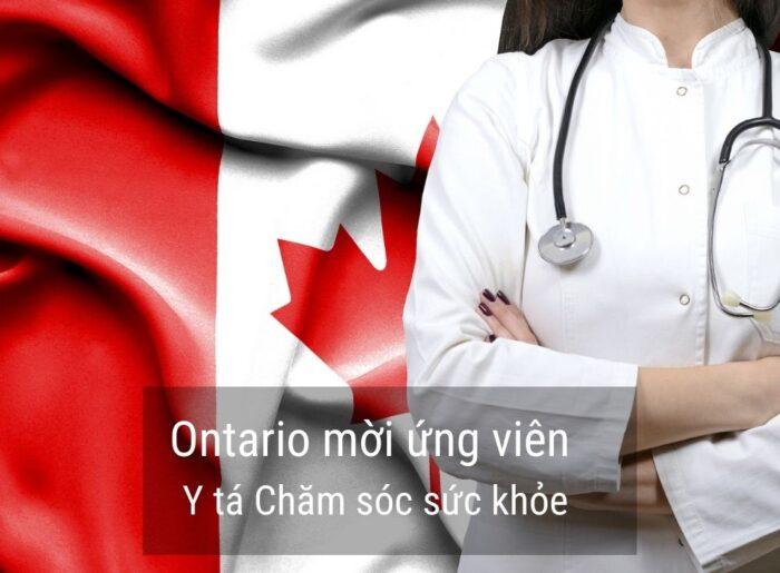 ONtario mời ứng viên chăm sóc sức khỏe bốc thăm
